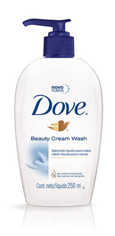 how to use dove beauty cream